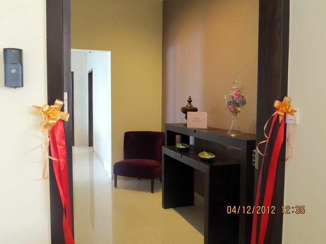 Entrance lobby - Show flat of Siddhashila Eira, 2 BHK & 3 BHK Flats in 16 Story 2 Towers with Amenities & Parking on & under the Podium at Koyate Vasti, Punawale, PCMC, Pune 411033