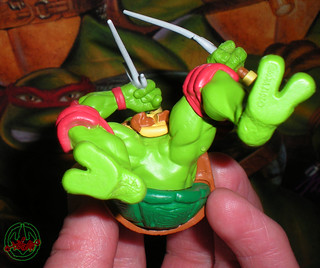 "AMERICAN GREETINGS :: TEENAGE MUTANT NINJA TURTLES - ""RAPHAEL"" Ornament viii (( 2012 ))"