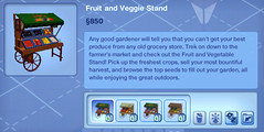 Fruit and Veggie Stand