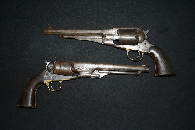 colt and remington 15th va cav J.E.Stone