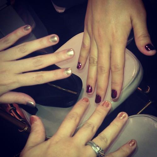 Lancome holiday nail polishes