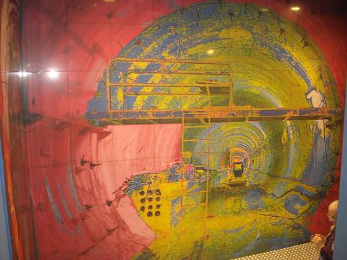 """""""Men at Work"""" by Achille Cevoli (2012) - La stazione """"Toledo"""" della metropolitana di Napoli, inaugurata il 17.9.12 / """"Toledo"""" Underground Station in Naples, open 17.9.12"""