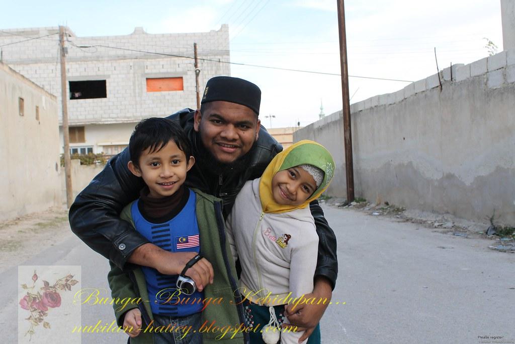Jannah,Faqeh dan ammu Rashdan.