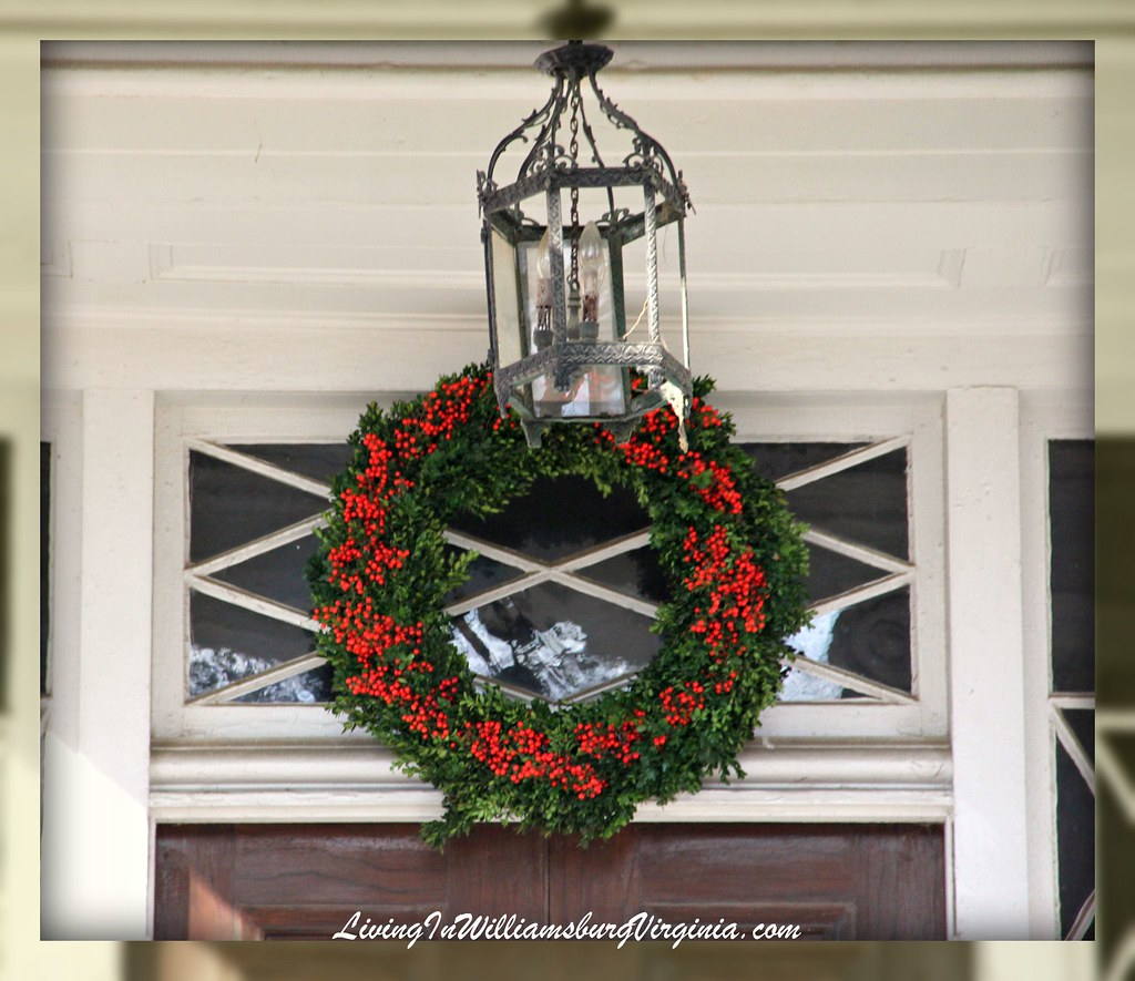 Armistead-Bowden House Christmas Decor