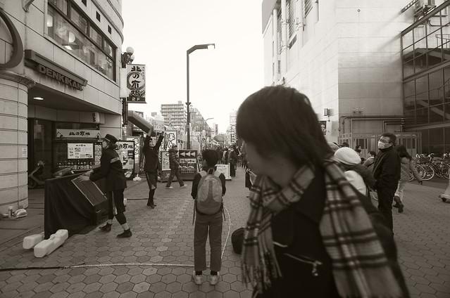 Street Show on Asakusa Rokku
