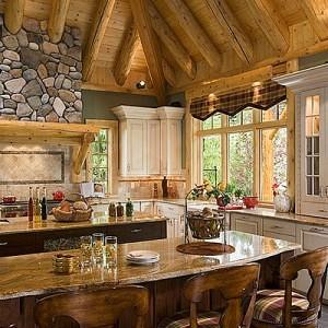 Fotos de diseno de cocinas rusticas for Cocinas campestres