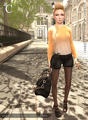 CHANDELLE - Shirt and Short Yara MESH - 1