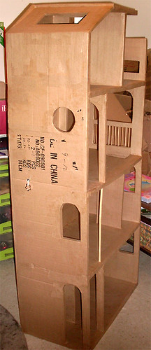 Barbie Cardboard Dollhouse 2011 2012