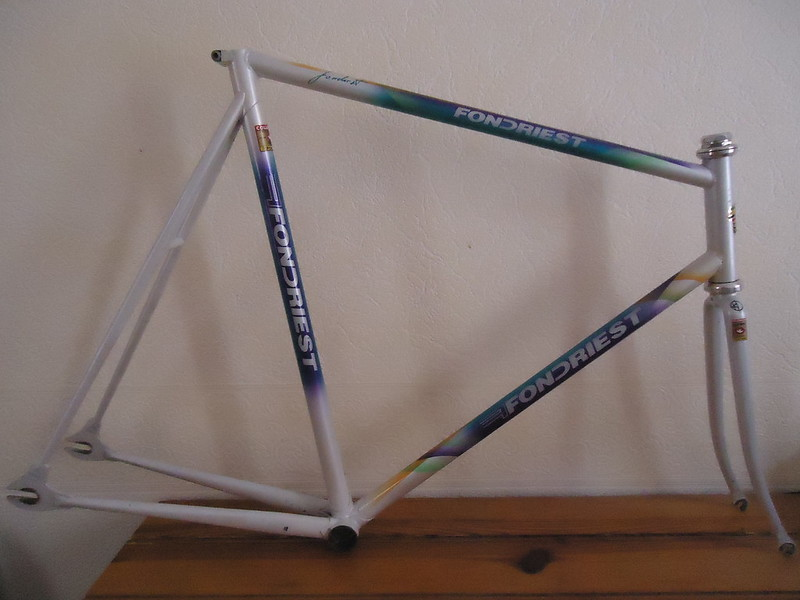 For Sale: Fondriest Track Pursuit frame ( low-pro )   LFGSS
