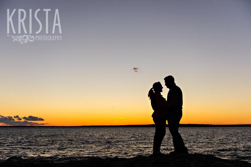 Newport engagement shoot