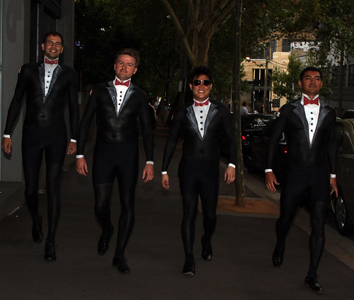 Tuxedo Bodypaint Momentum Worldwide Australia by Eva Rinaldi Celebrity and Live Music Photographer
