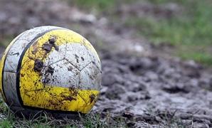 Muddy pitch
