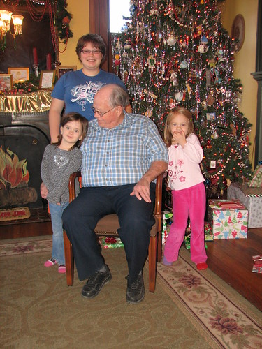 my Dad and my grand-children