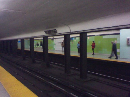 The new tiles of Dufferin Station (1)