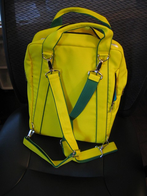 AVA Laptop Backpack from Ice Red