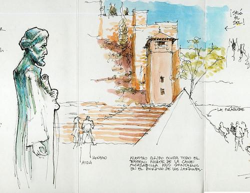 Málaga, islamic fortress