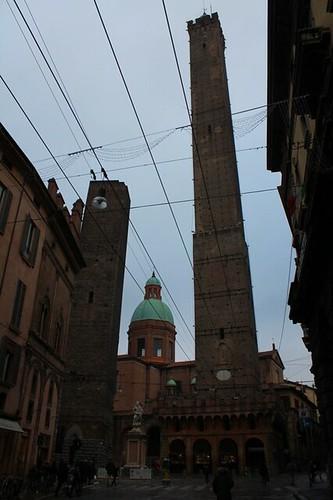Torre Garisenda & Torre degli asinelli