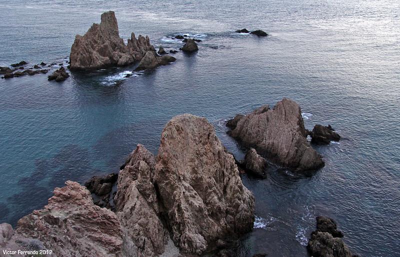 Mirador de Las Sirenas y faro de Cabo de Gata.
