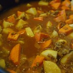 Turkey Curry with potatoes and sweet potatoes - 7