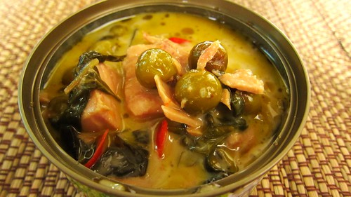 Canned Tuna green curry グリーンカレーの缶詰