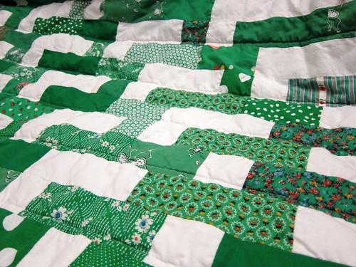 geometric doodle quilt