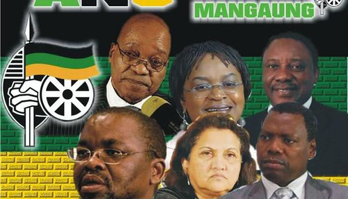 Top African National Congress leaders elected at the conference in Manguang. The ruling party of the Republic of South Africa is celebrating its centenary. by Pan-African News Wire File Photos