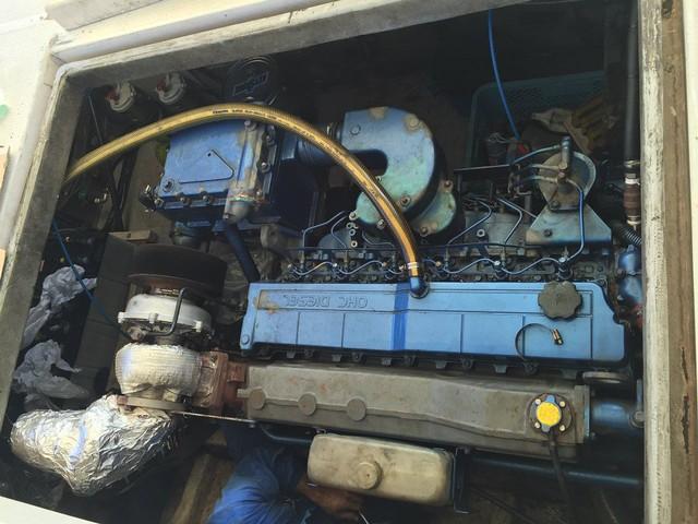 エンジン故障で再び修理へ。。