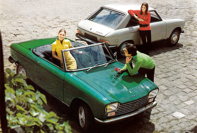 peugeot 204 coupe cabrio 9