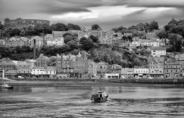 Oban Harbour, Scotland UK
