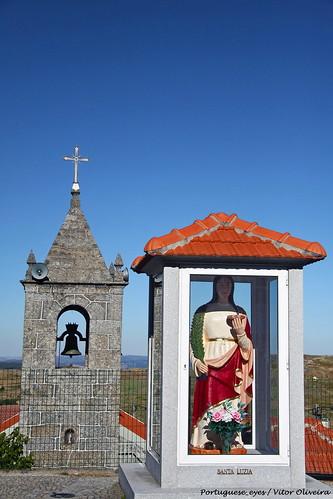 Estátua de Santa Luzia - Feirão - Portugal
