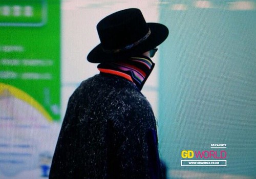 Big Bang - Gimpo Airport - 15jan2015 - G-Dragon - GD World - 02