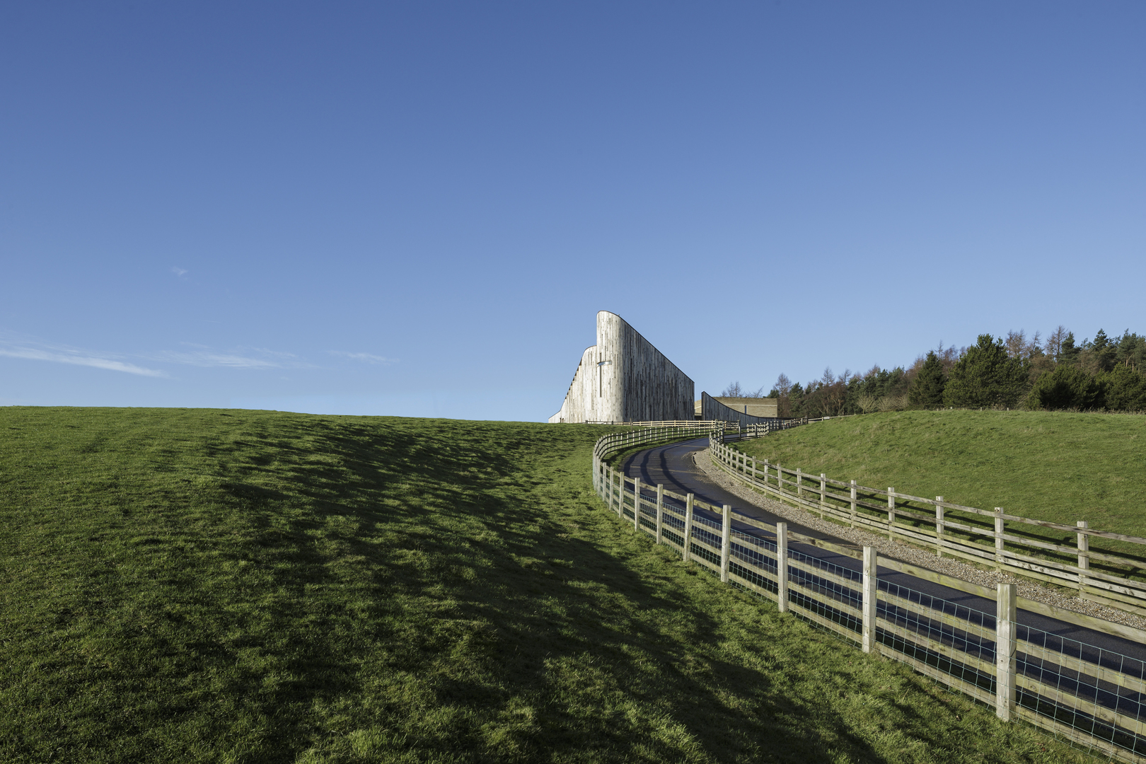 Stanbrook Abbey Church, Wass, Yorkshire - Feilden Clegg and Bradley Studios ® Tim Crocker