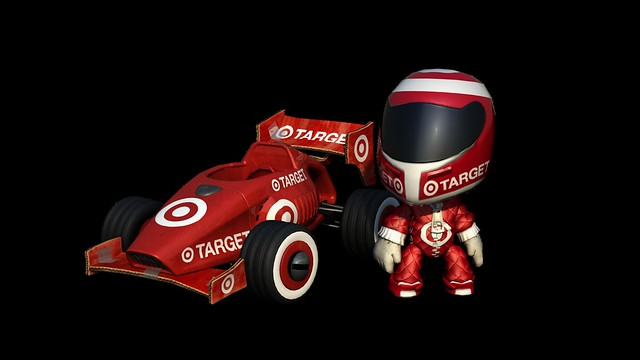 LittleBigPlanet Karting: Target Racer