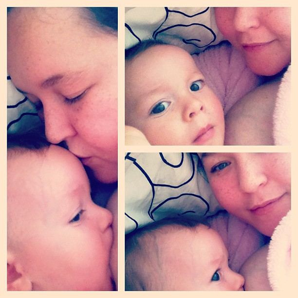 Snuggles with the little one x :)