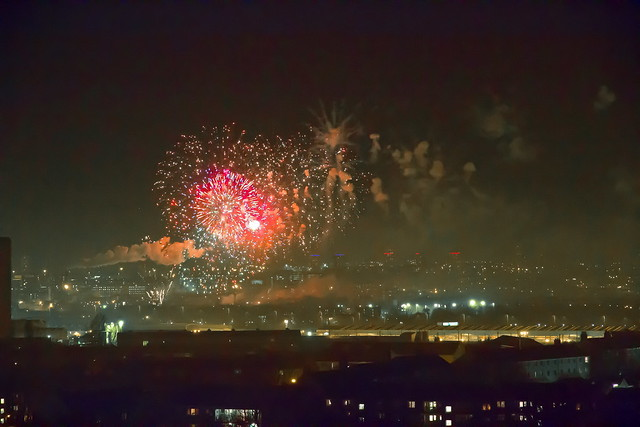 Glasgow's Fireworks Display