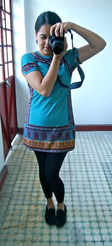 bluson azul