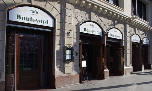 Cierran El Café Boulevard de Bilbao. by LaVisitaComunicacion
