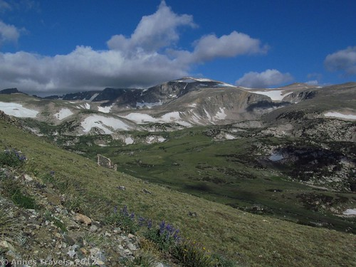 A view along the trail, Hellroaring Plateau, Montana