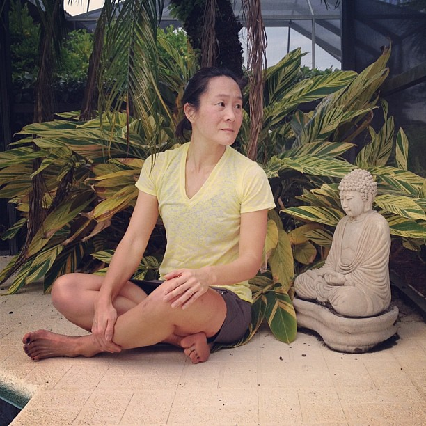 Feeling a Bit Zen #selfie #scl_travel