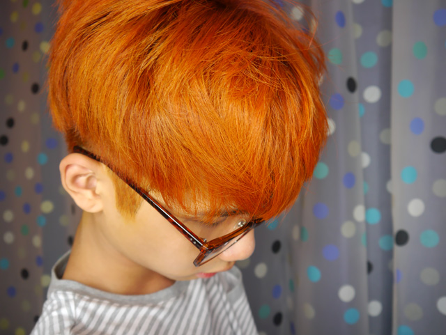orange hair colour