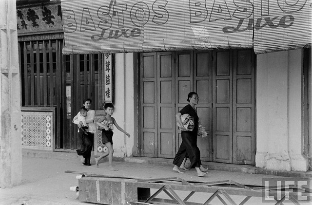 SAIGON 1955 - Attackig the Binh Xuyen Rebels