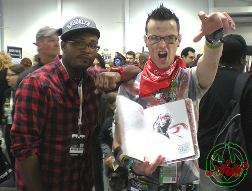 New York Comic Con 2012 :: Khary Randolph & Tokka