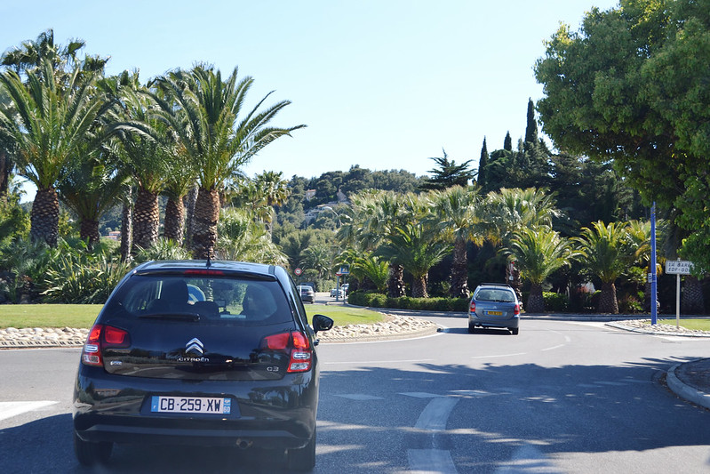 Driving through Provence