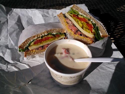 Fred's Sirloin Sandwich