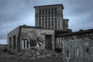 Michigan Central Station and THOR