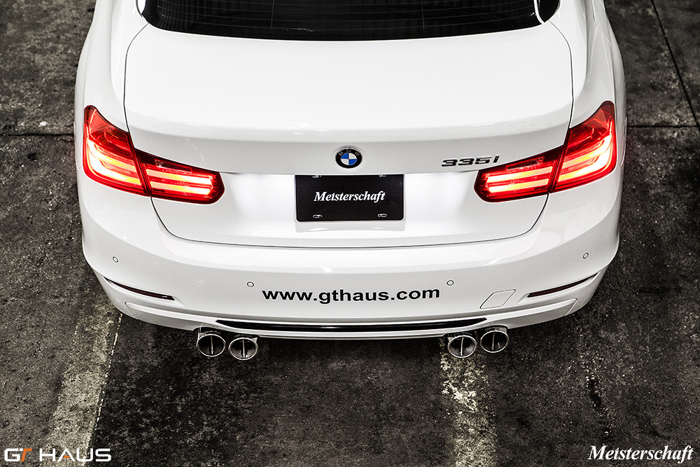 Bmw F30 335i W Meisterschaft Super Gt Exhaust Bmw F30 335 Flickr