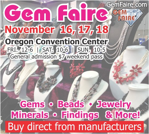 Portland Gem Faire @ Oregon Convention Center