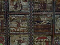 Deckenbilder in der Kirche St. Martin Zillis