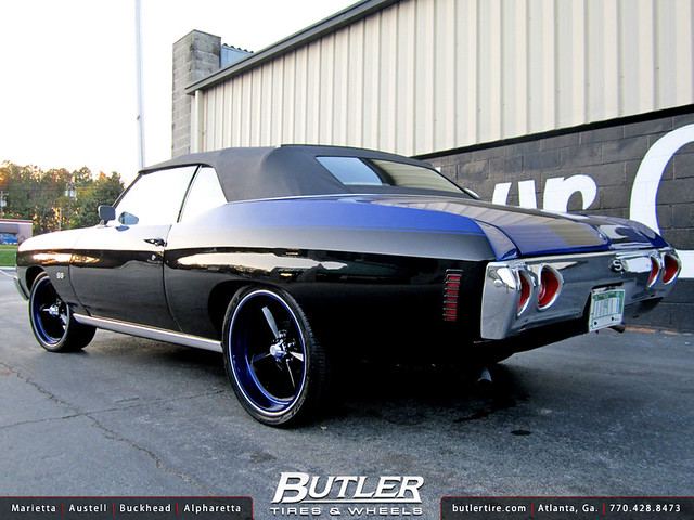 72 Chevy Chevelle With 20in Us Mags U106 Wheels Flickr