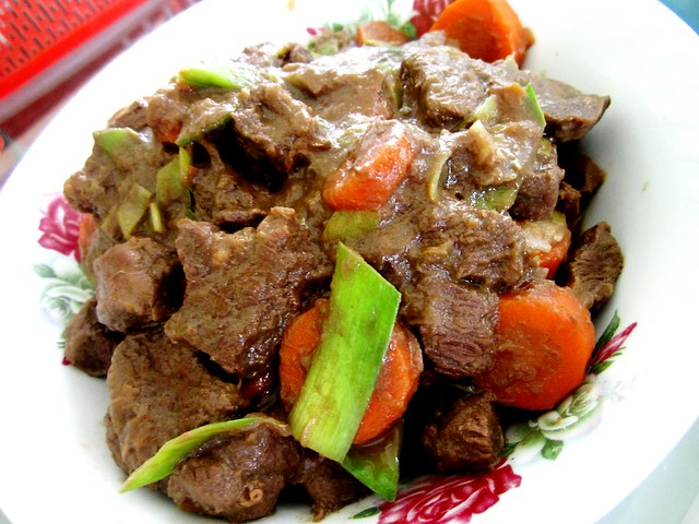 Melissa's stewed beef
